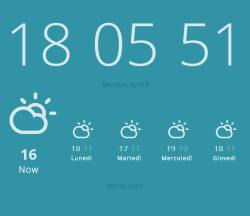 previsioni del tempo su Chrome e Firefox