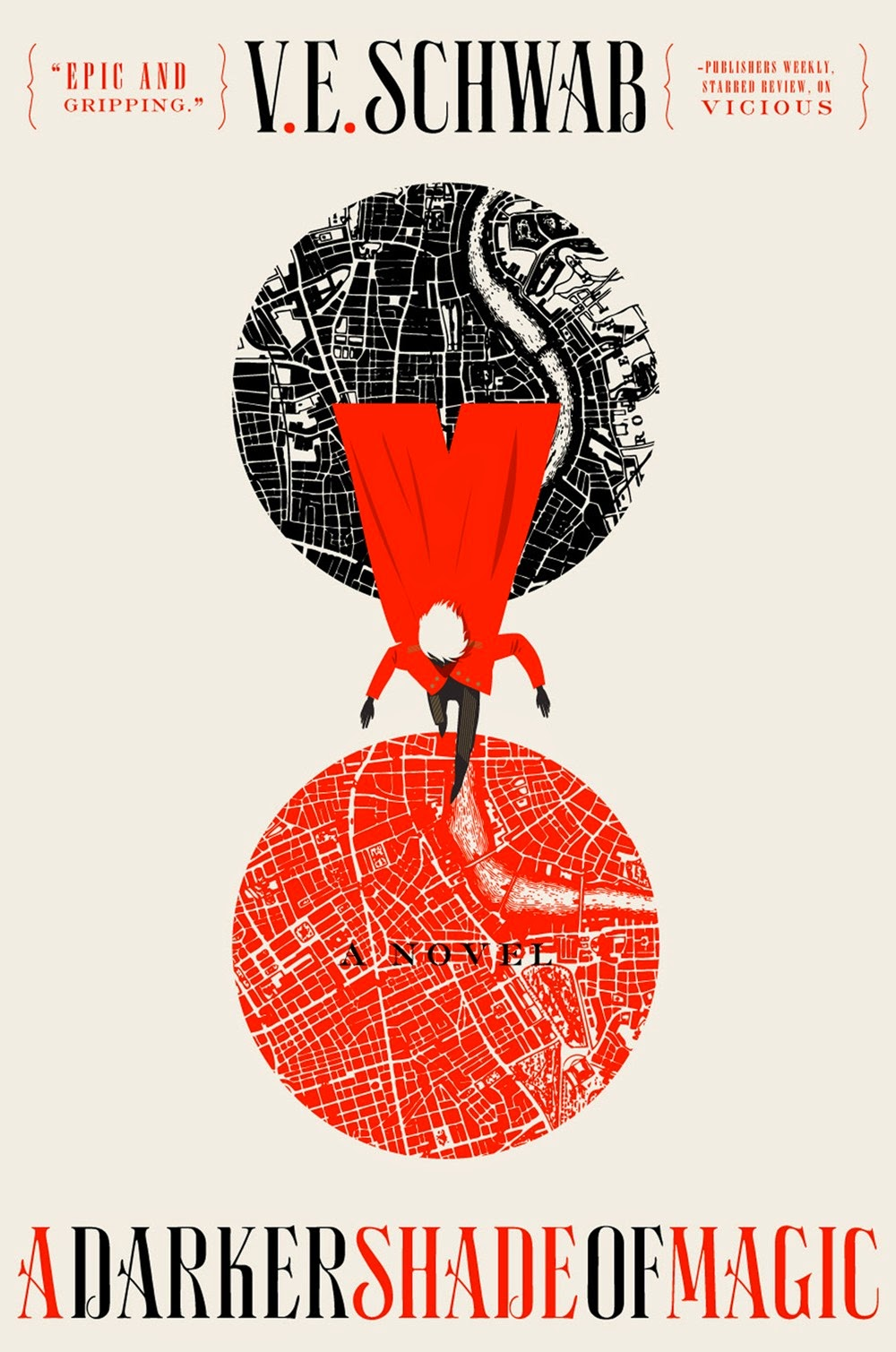a darker shade of magic book review cover v.e. schwab fantasy novel