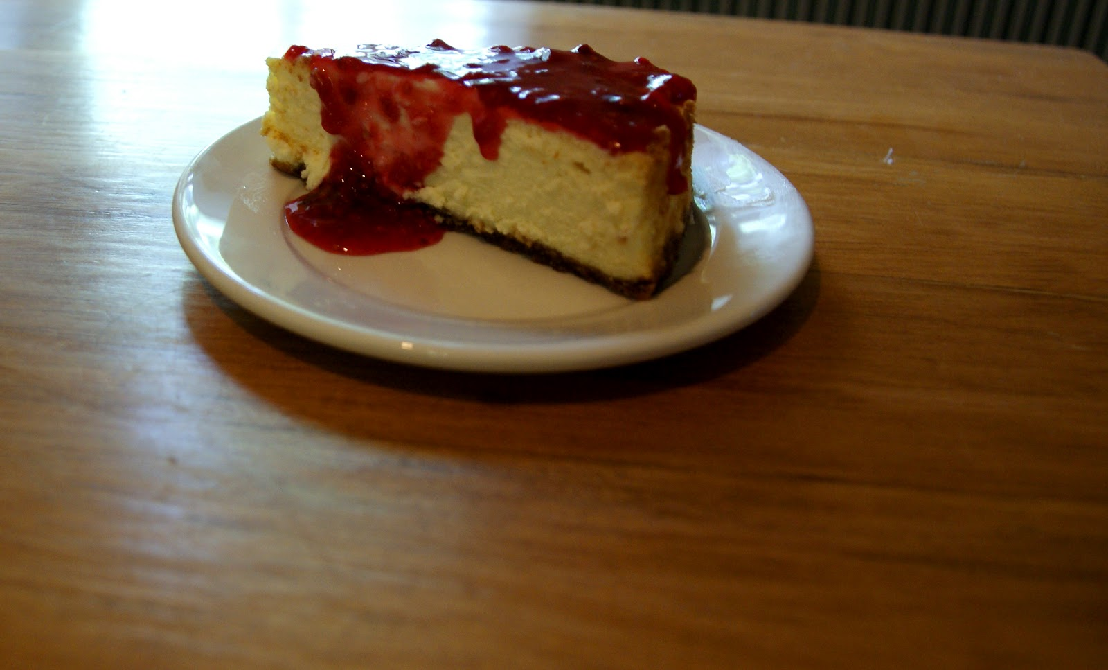 Stonehill Studio: TGIDN: Cheesecake Supreme with Raspberry Topping