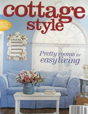 Beach cottage style decorating via cottage style magazine for Cottage design magazine