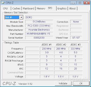 CPU-Z adalah utilitas freeware yang mengumpulkan informasi mengenai beberapa perangkat utama dari sistem anda. CPU-Z tidak perlu diinstal, cukup unzip file dalam suatu direktori dan jalankan. Exe.