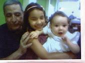 Meu pai com as netas