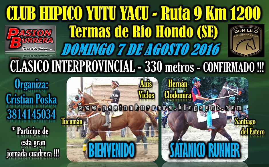 YUTU YACU - 6 DE AGOSTO