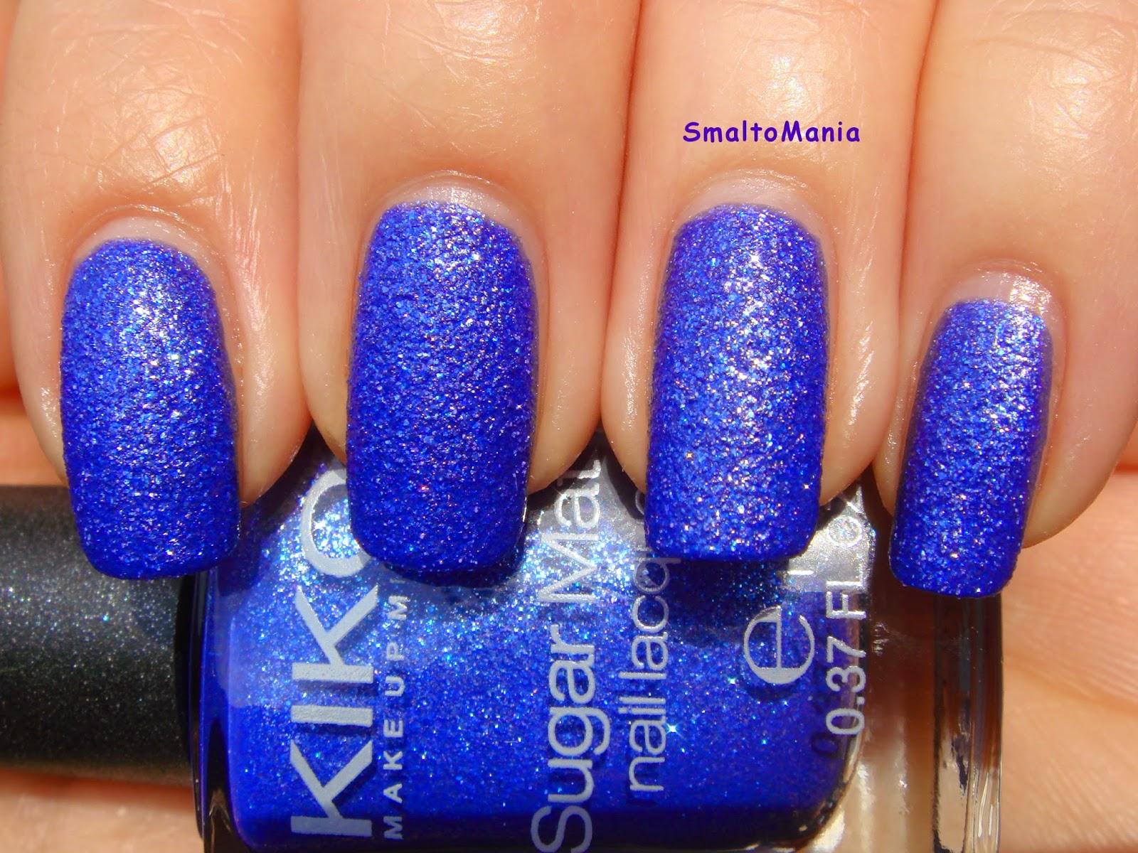 Kiko Sugar Mat n.644 Blu Mare