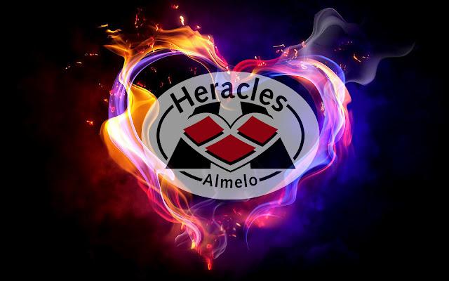 Heracles achtergrond met logo