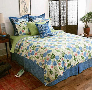 Green and blue bedroom ideas