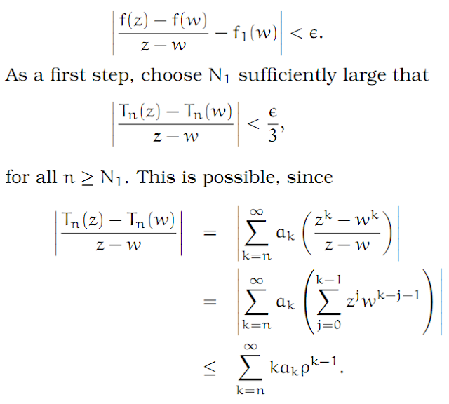 Complex Analysis: #6 Power Series equation pic 5