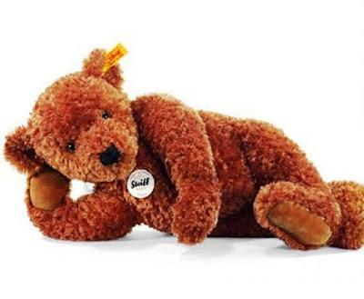 Boneka Teddy Bear Cokelat Lagi Tidur