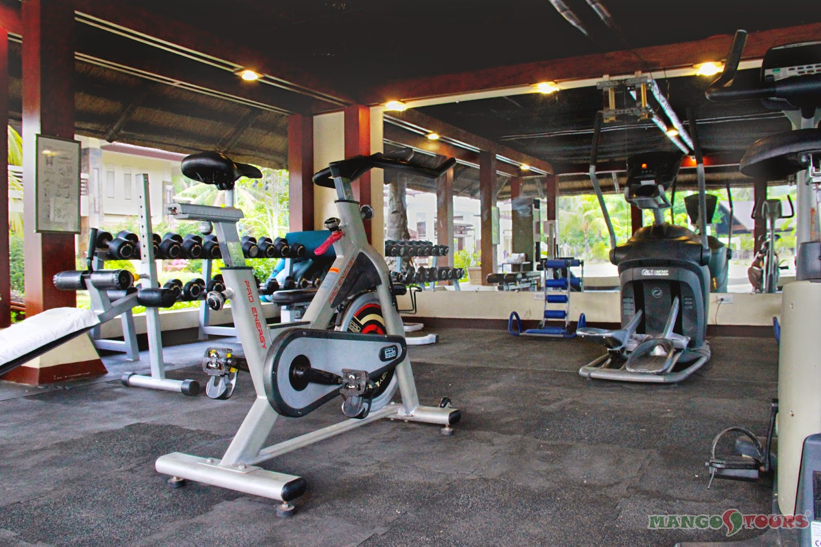 Mango Tours Philippines Puerto Princesa Palawan Sheridan Beach Resort & Spa Fitness Center
