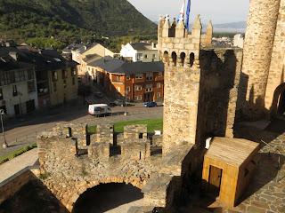 Si te gustan los templarios, no dejes de visitar el castillo de Ponferrada