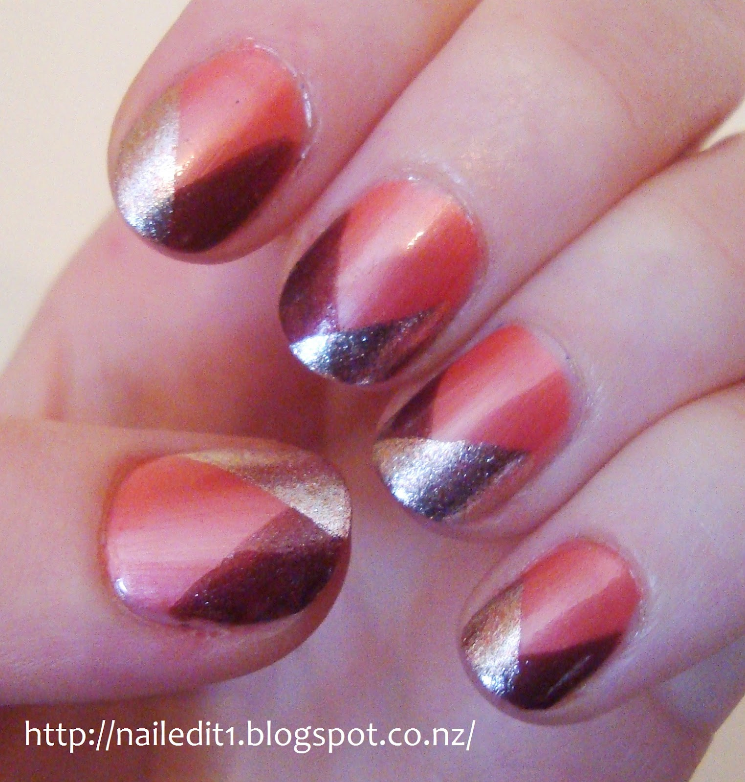 Glam everyday nails