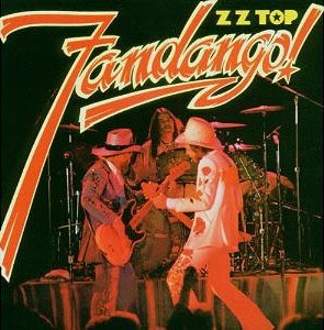 ZZ Top Fandango Album cover