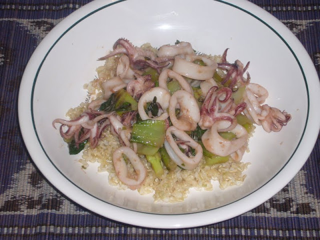 Serrano Lime Squid and Bok Choy Food52
