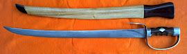 Pedang Kelantan  tempahan khas