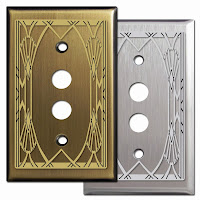 Decorative Pushbutton Switch Plates
