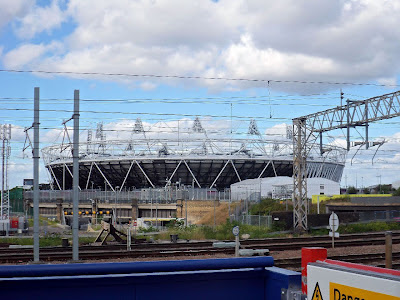 The Olympic Park, London.