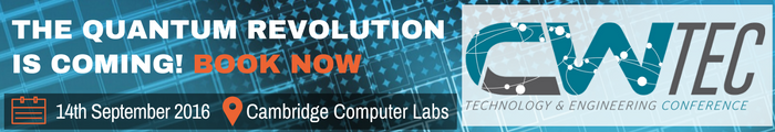 CWTEC 2016 - The Quantum Revolution is coming