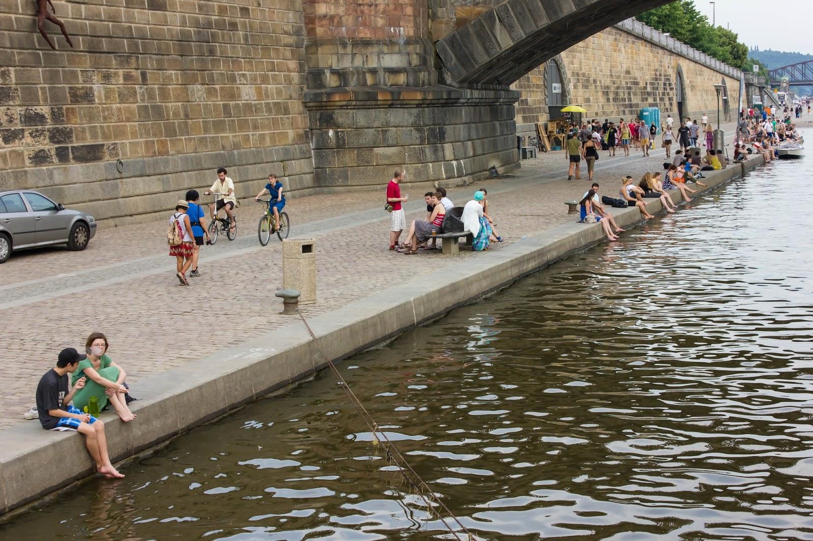 Прага, Чешская Республика, Набережная