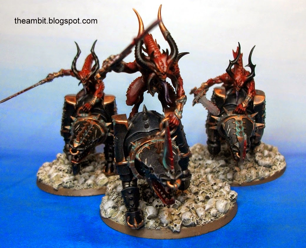 how to play khorne bloodcrushers