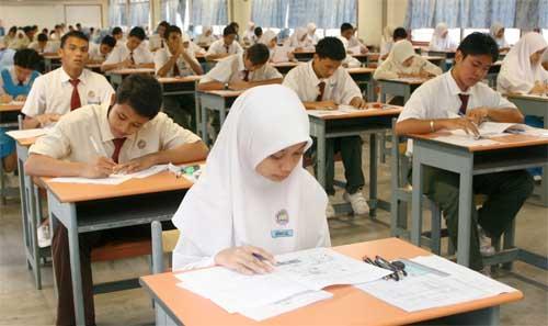 Peperiksaan SPM 2012 akan dilansungkan pada 5 November – 6 Disember