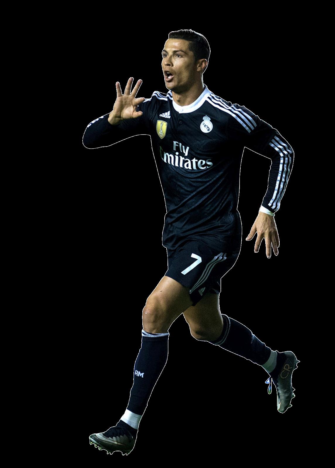 Bola Render: Cristiano Ronaldo