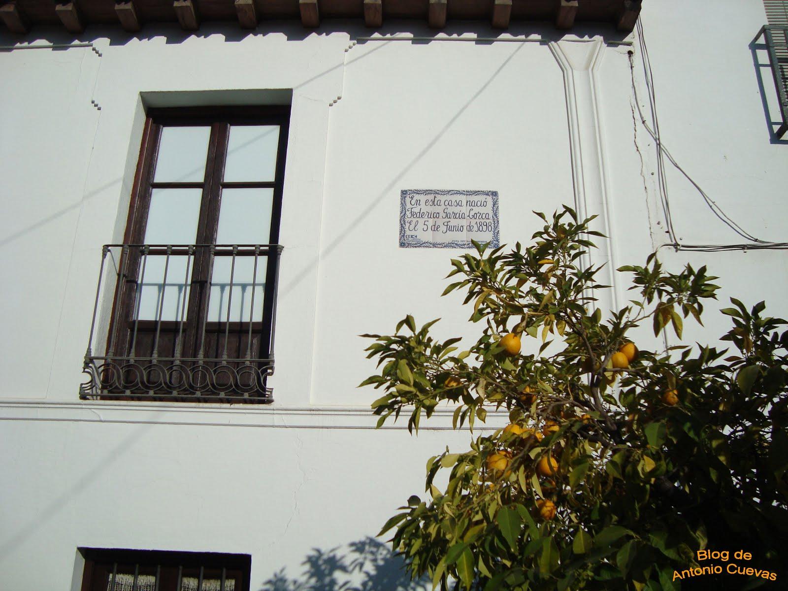 Casa natal de Federico García Lorca