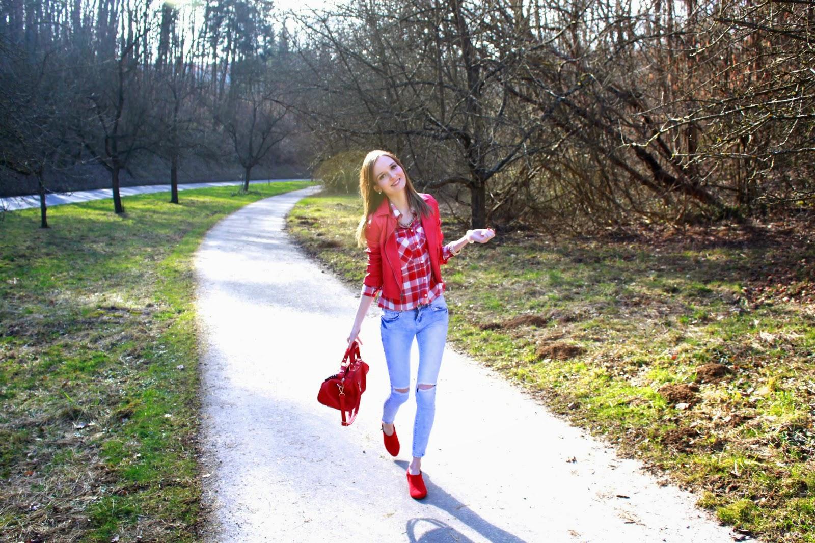 Rot,rot,rot sind alle meine Kleider,…