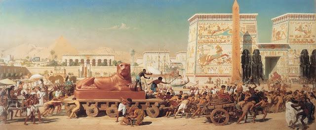 Edgward Poynter, ancient egypt,classical realism