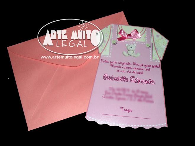 Arte Muito Legal - Convites e Lembranças Especiais