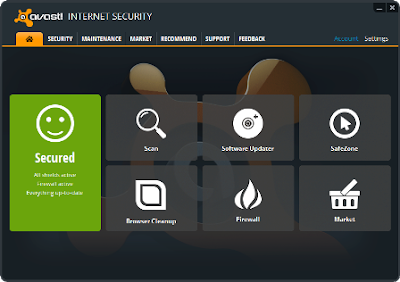 Screenshoot 1 - Avast Internet Security 8 | www.wizyuloverz.com