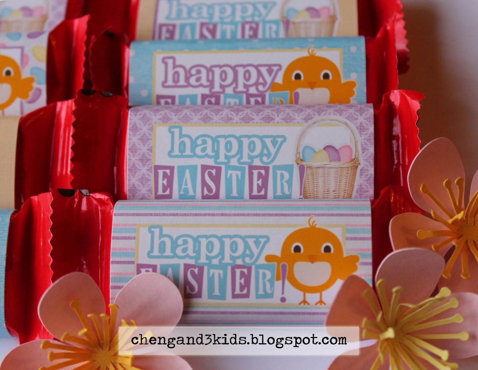 Easter KitKat Wrappers by chengand3kids.blogspot.com