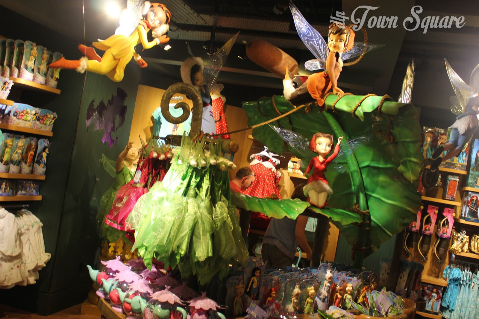Disney Fairies display