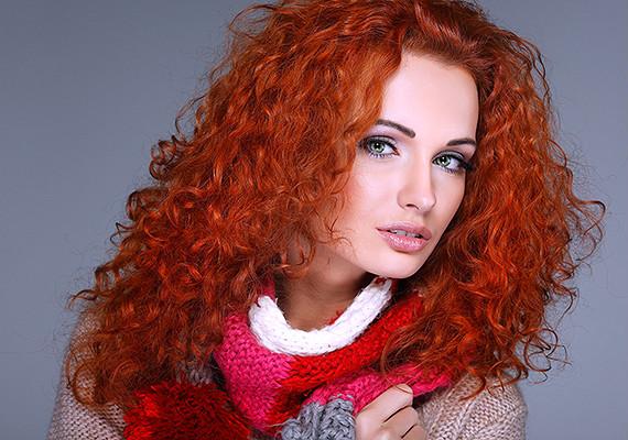 фото оттенки рыжего цвета волос