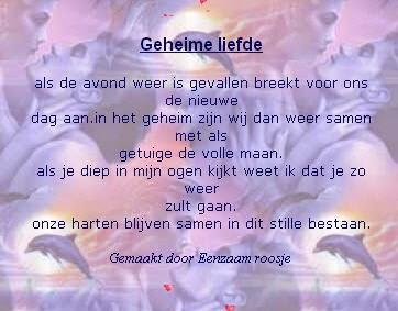 Populair SMS Gedichten: Liefdes sms gedichten @JY59