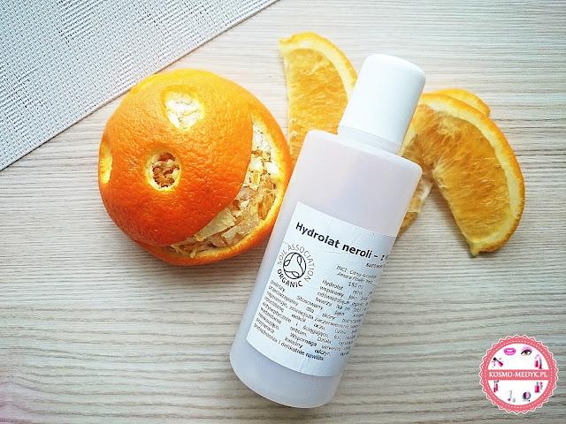 Hydrolat neroli - z kwiatu pomarańczy BIO.