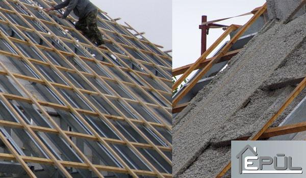 Tetőteret is építünk | Épül Kft. - Habbeton házak
