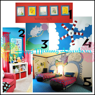 dr seuss room mood board