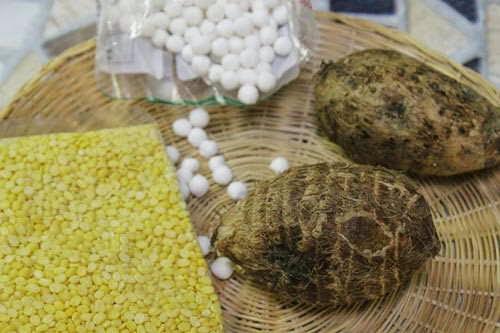 Vietnamese food - Chè Khoai Sọ với Đậu Xanh