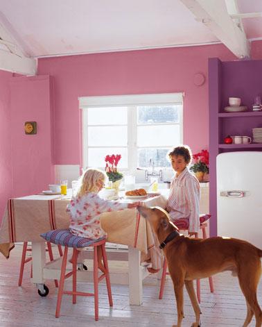 Con qu color combina el rosa dentro de una habitaci n - Colores que combinan con rosa ...
