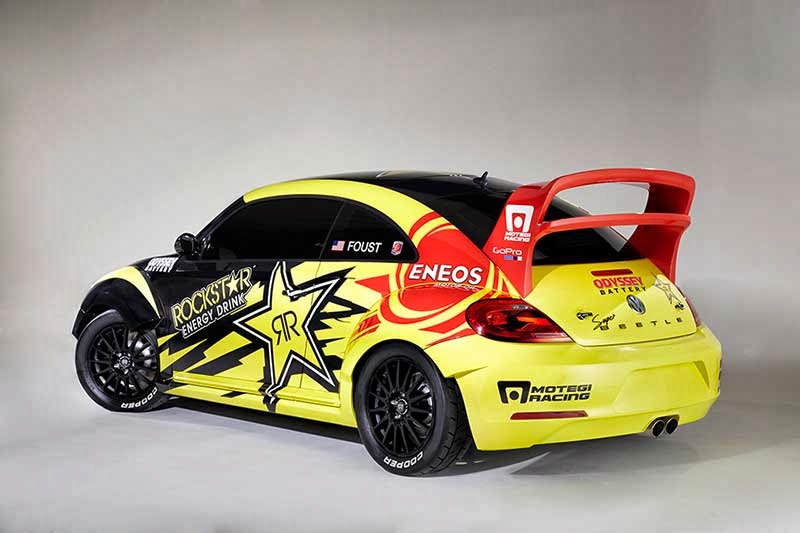 Modified VW Beetle Red Bull Global Rallycross Series 2014 Pictures