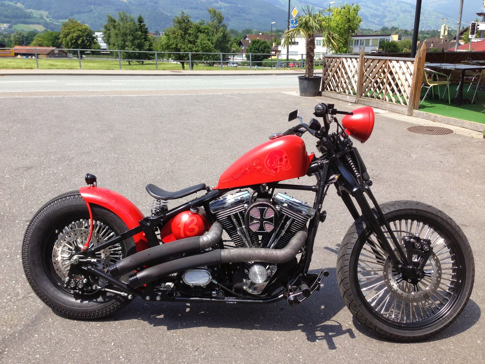 Harley Davidson Fatboy 1993 By Bobber FL Motorcycles