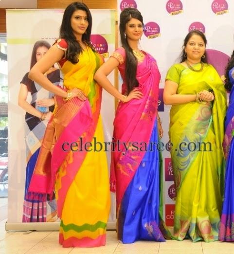 Palam Silks Colorful Sarees