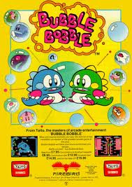 Bubble Bobble Arcade game portable