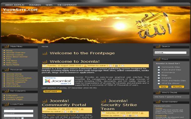 frontpage templates free download