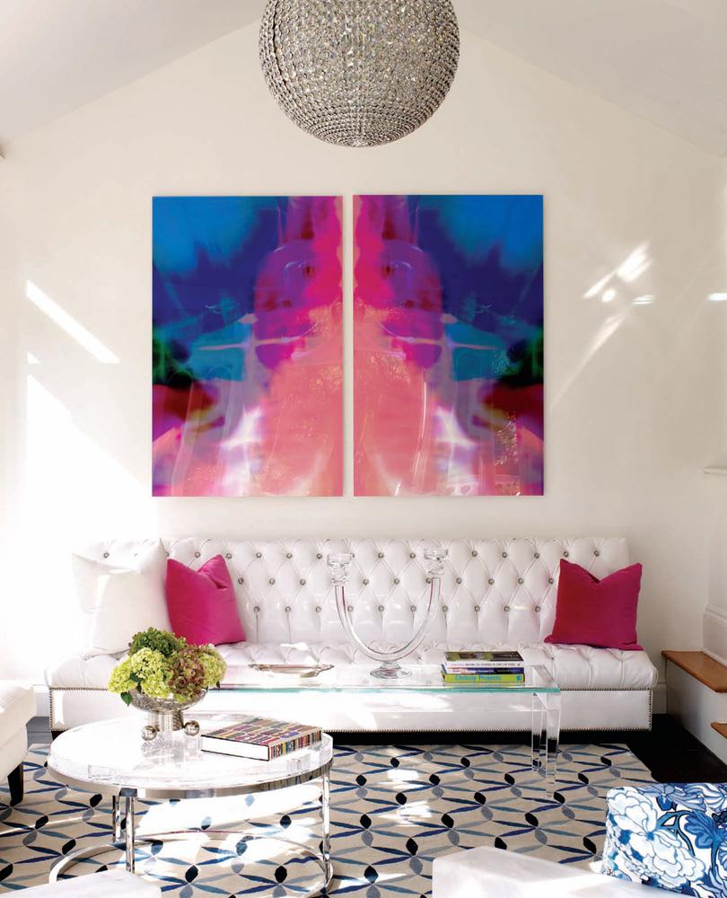 Modern Chic Living Room Modern Furniture The White Room
