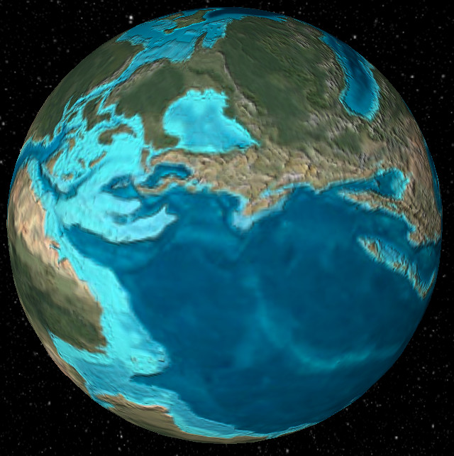 what did earth look like 600 million years ago ecoclimax