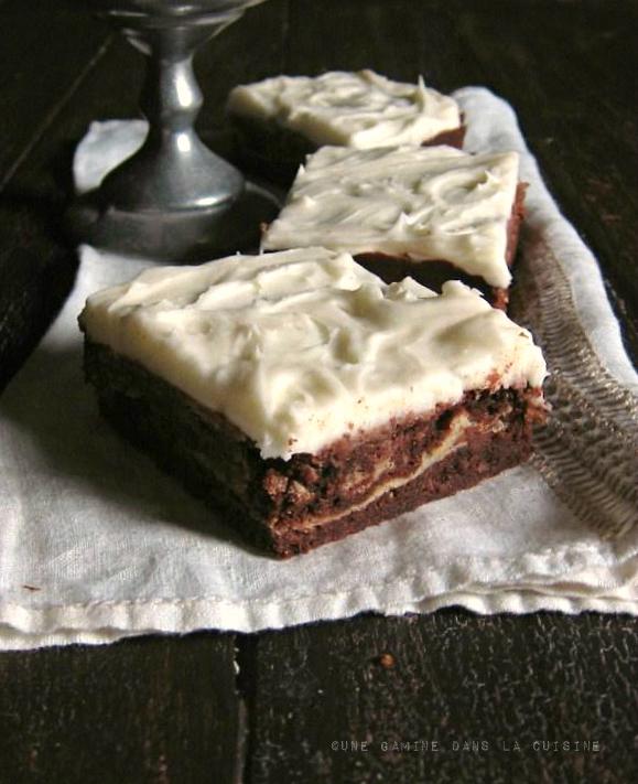 goat cheese brownies |une gamine dans la cuisine