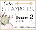 Number 2 Stamp Kit 2014