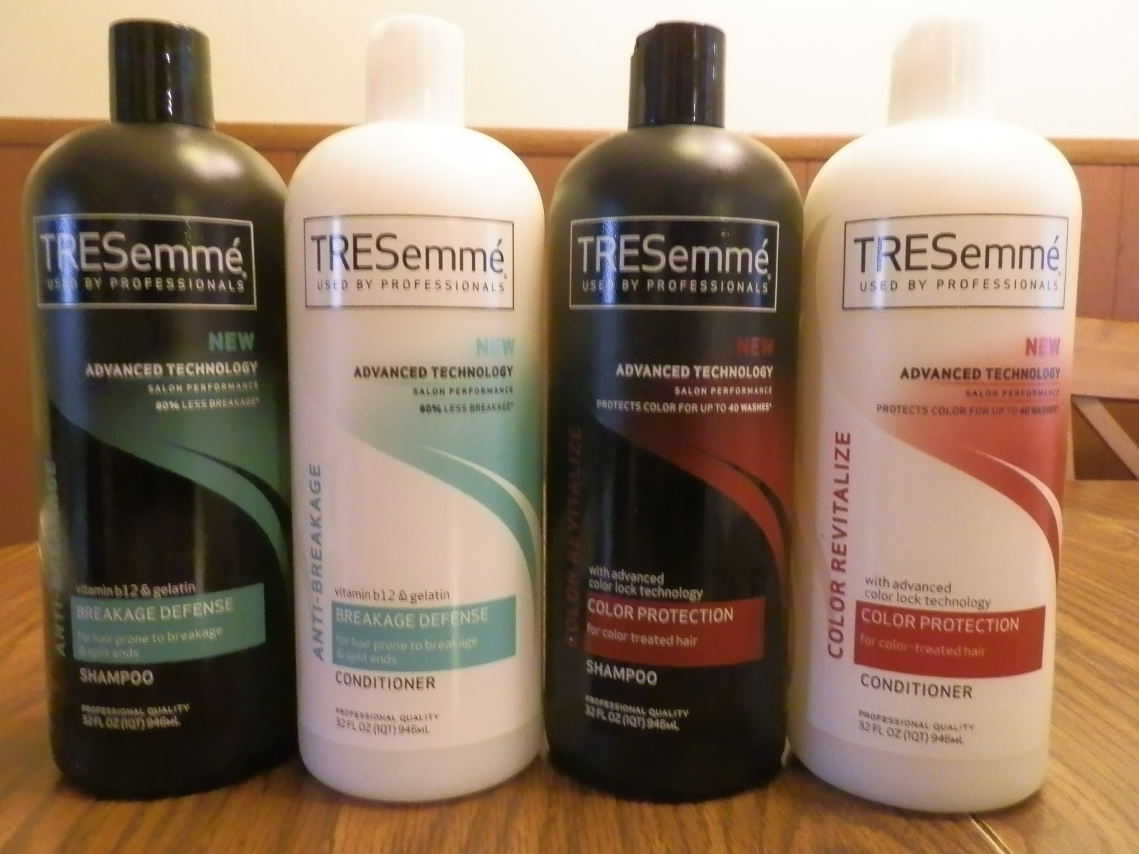 mommy of many trades  cvs  free tresemme shampoo  u0026 conditioner