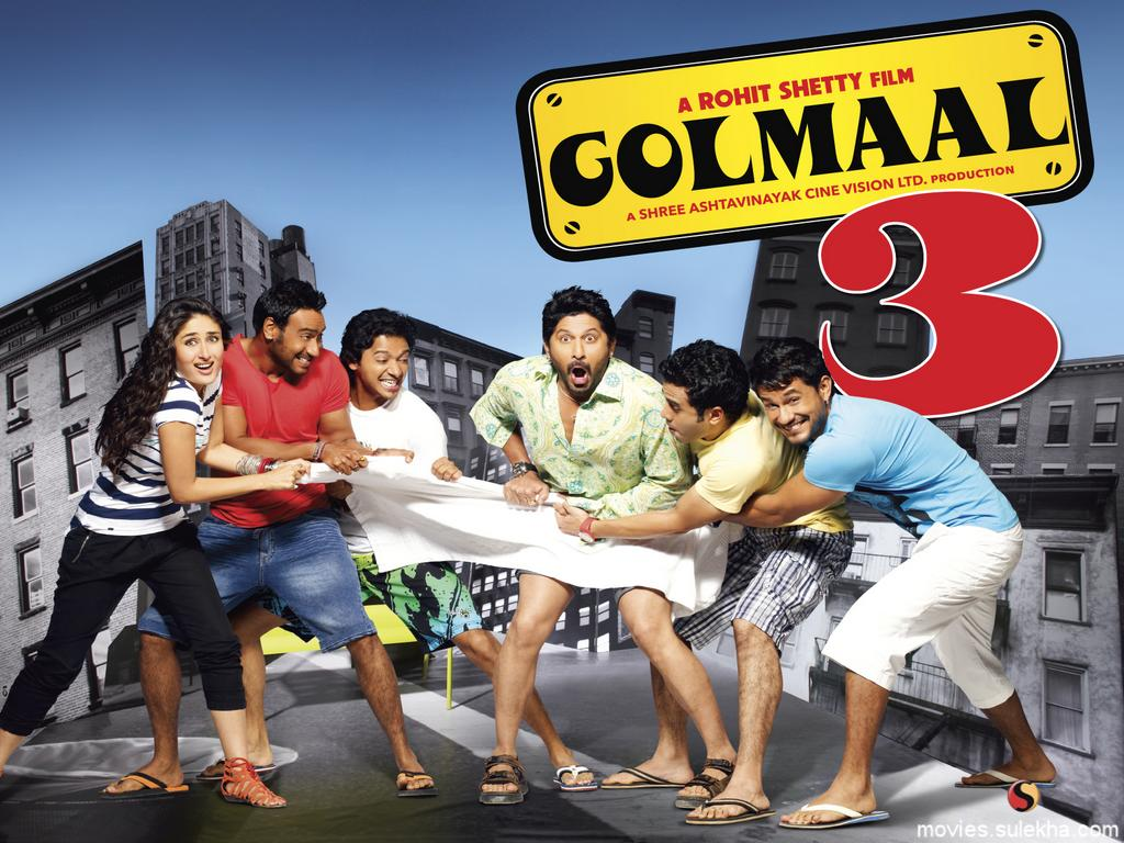 Golmaal 3 (2010) BluRay